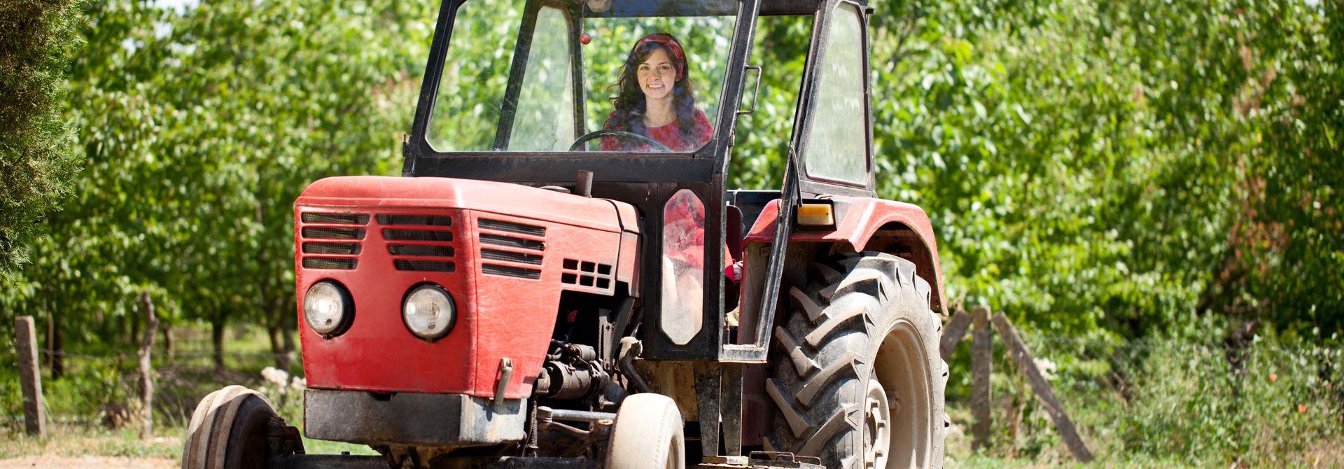 Die Bu00e4uerin bewegt die Landwirtschaft>