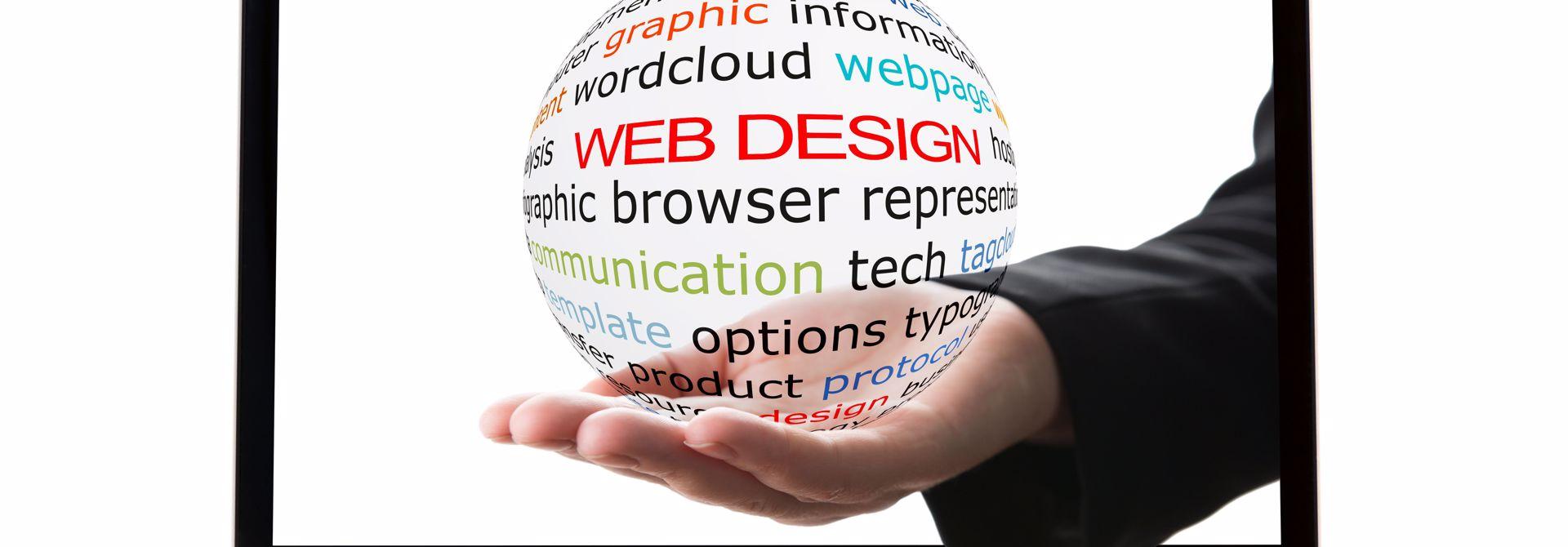Ansprechende Website gestalten>