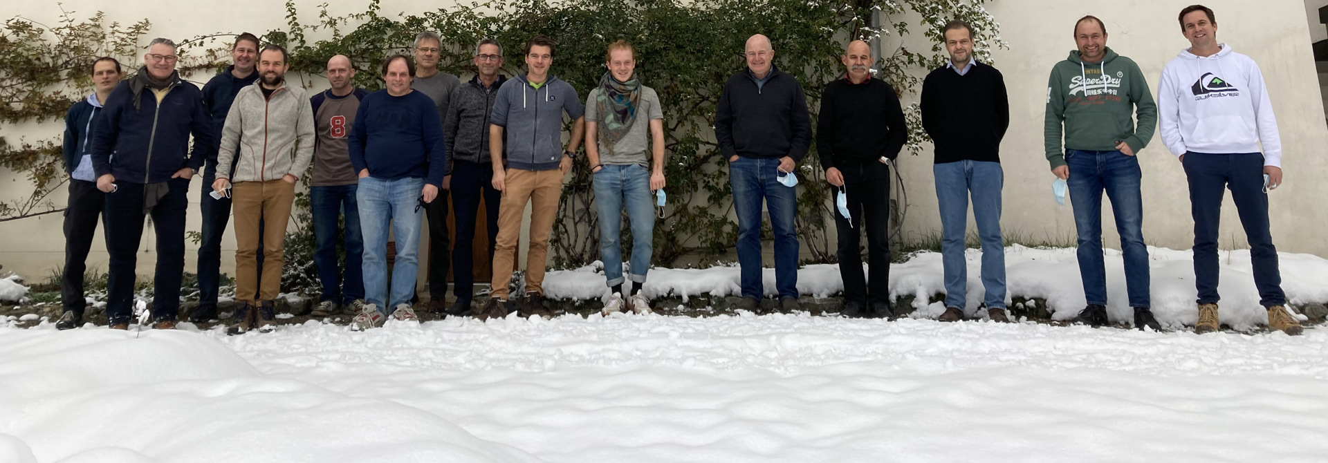 Workshop-Teilnehmer (Bild: K. Carrel, Strickhof)>