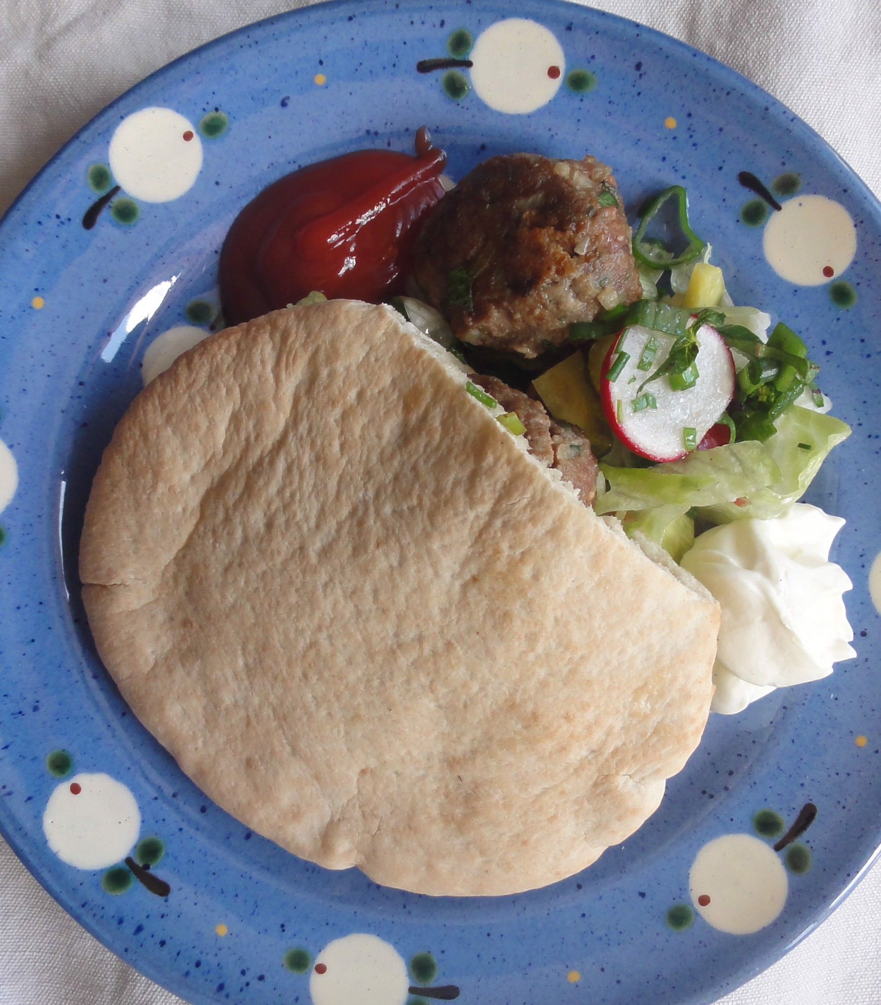 Kräuterburger