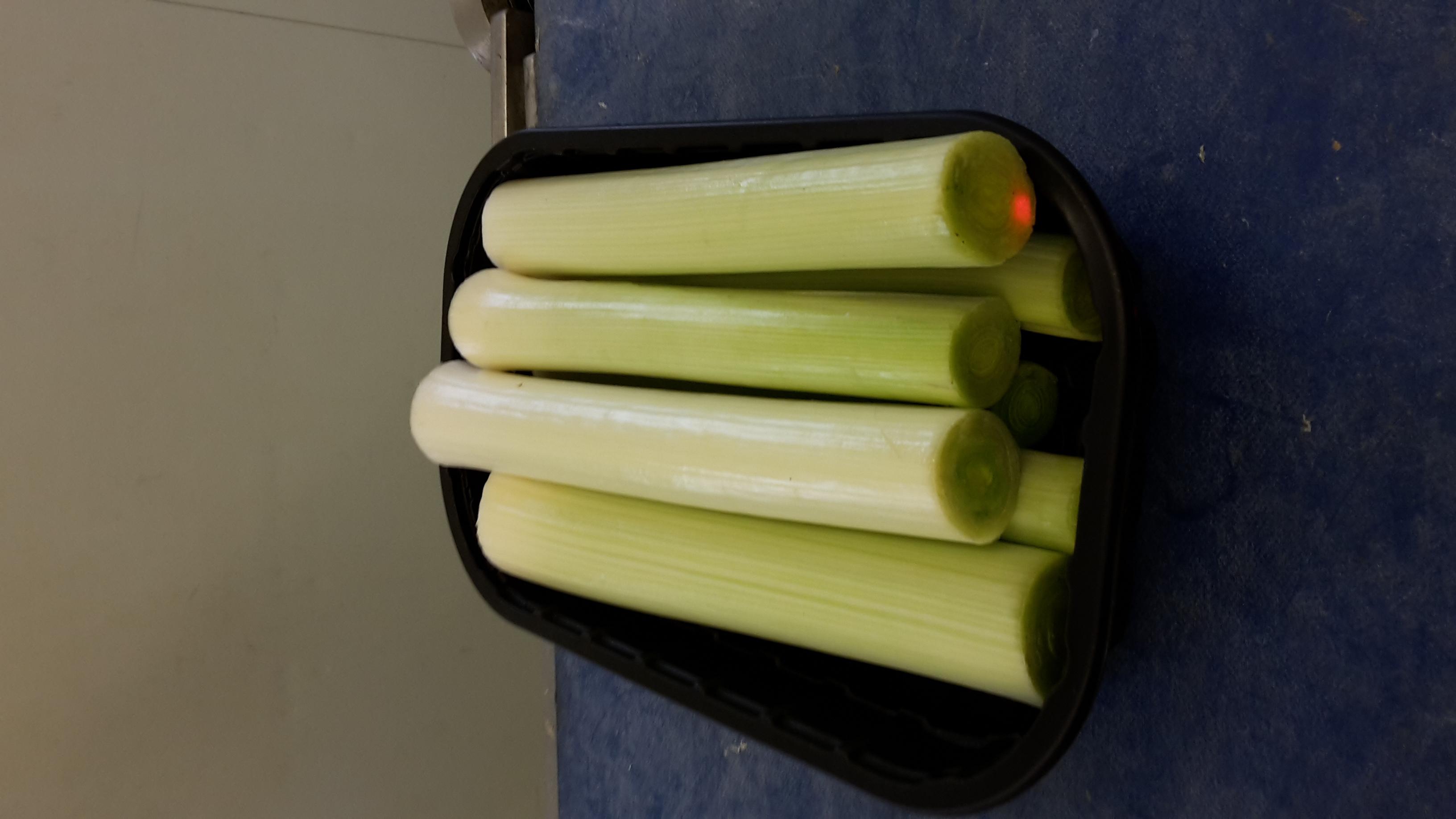 Foodtainerlauch weist eine hohe Rüstintensität von Rohware zu verkauftem Produkt auf.