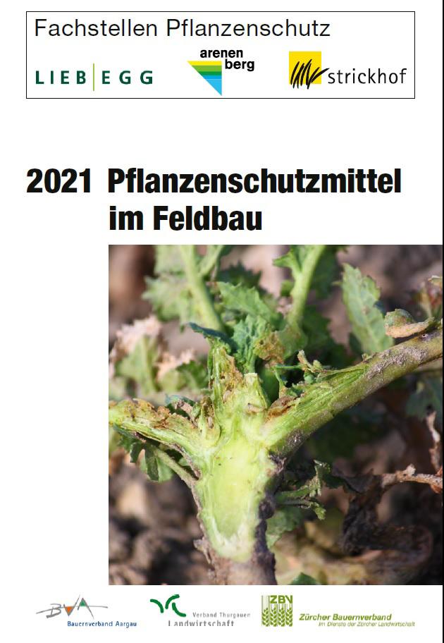 Mittelheft Pflanzenschutz 2021