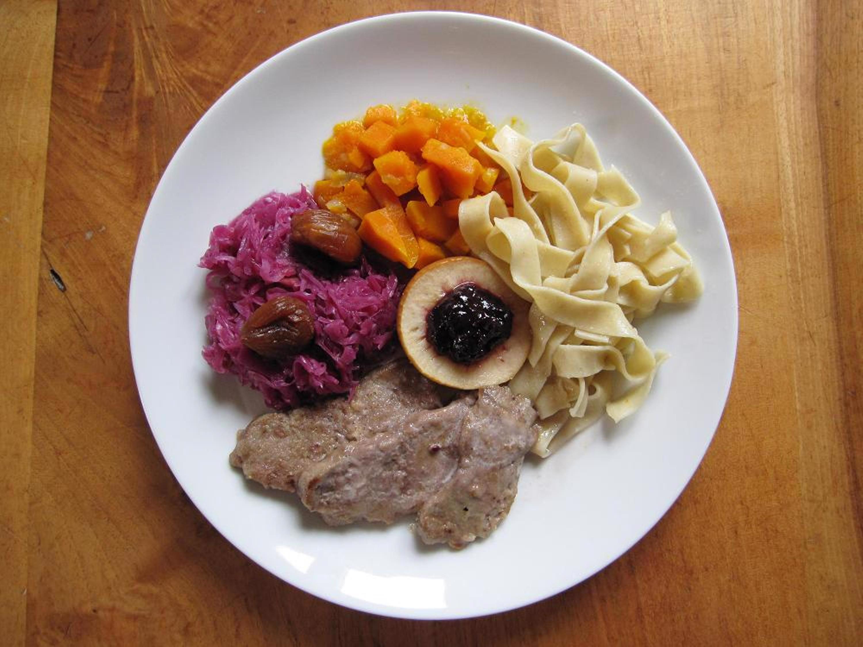 Rehschnitzel