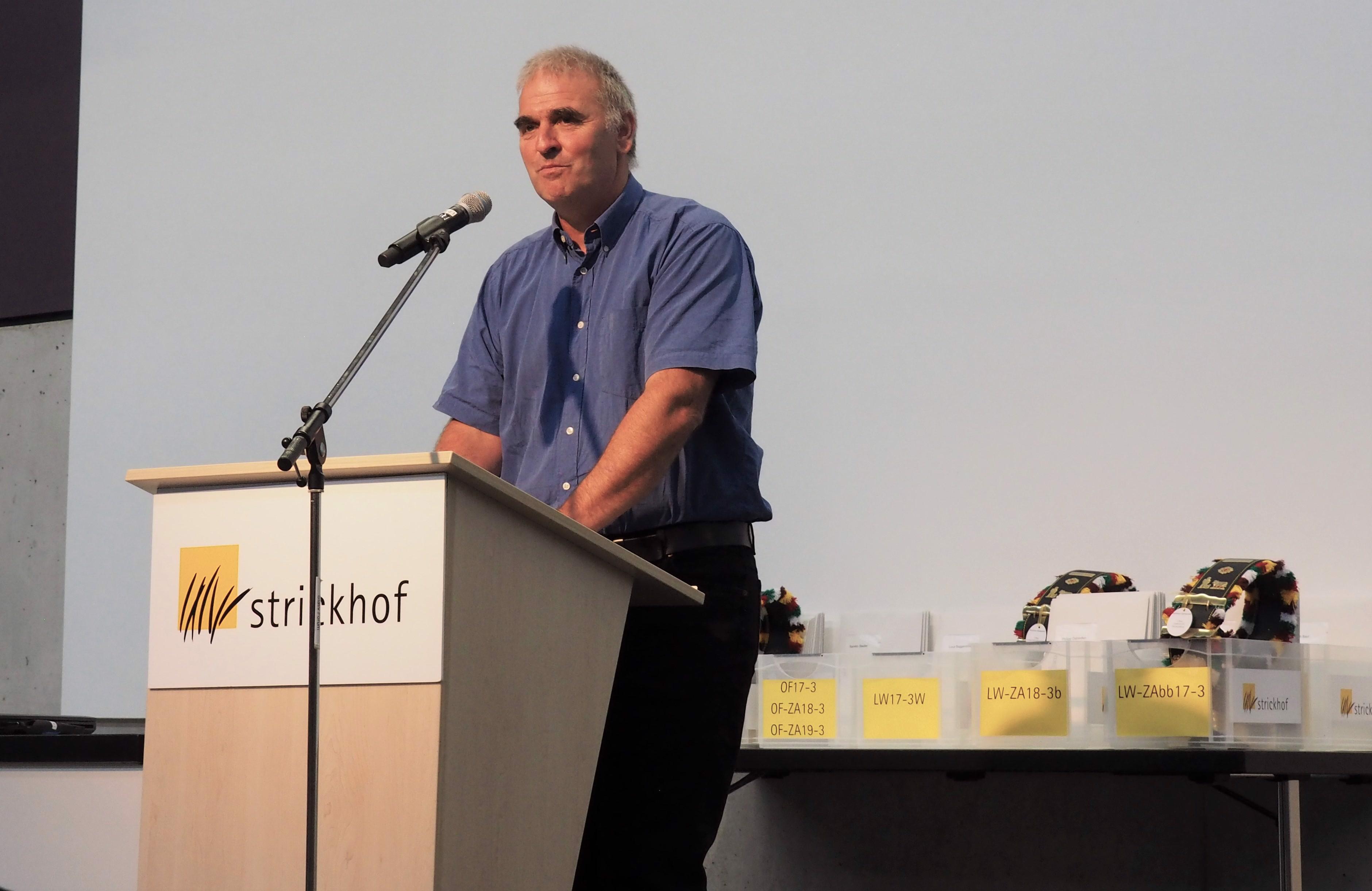 Samuel Herrmann Präsident Schulkommission
