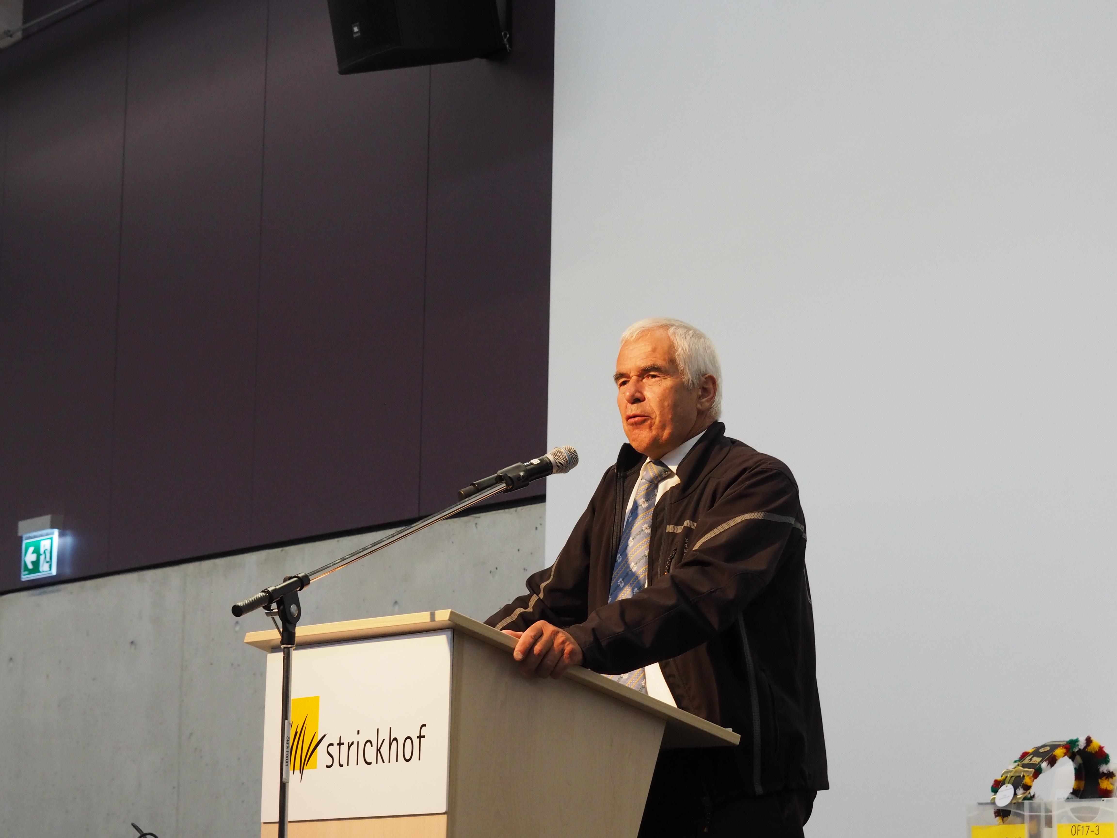 Hans Frei Präsident Zürcher Bauernverband
